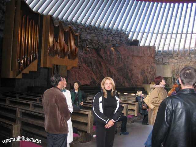 Финляндия  литеранская церковь