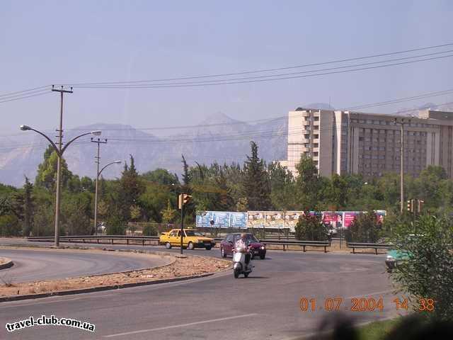 Турция  Кемер  Traum 3*  Дорога из аэропорта Анталии до Кемера весьма живописн�
