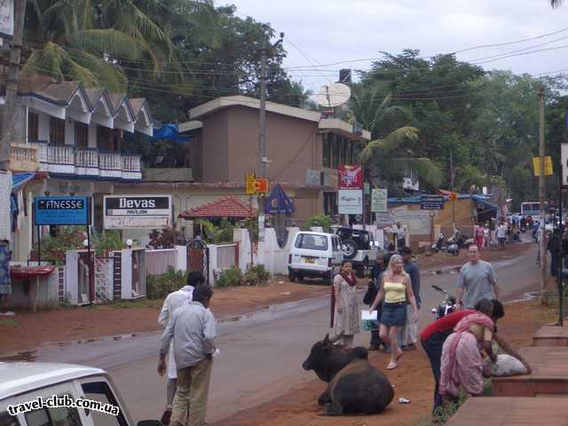 Индия  Обыкновен улица Сев ГОА