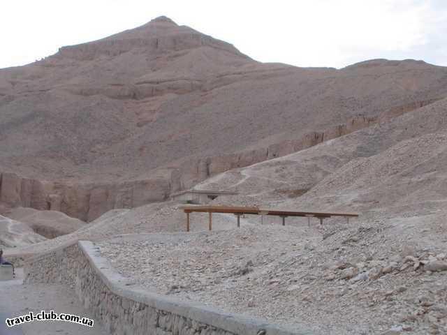 Египет  Достопримечательности  Долина царей (Луксор)  Долина царей, нам повезло не было палящего солнца,  для