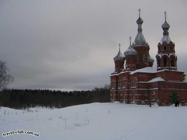 Россия  Селигер  турбаза Сокол  Храм святого Николая Чудотворца