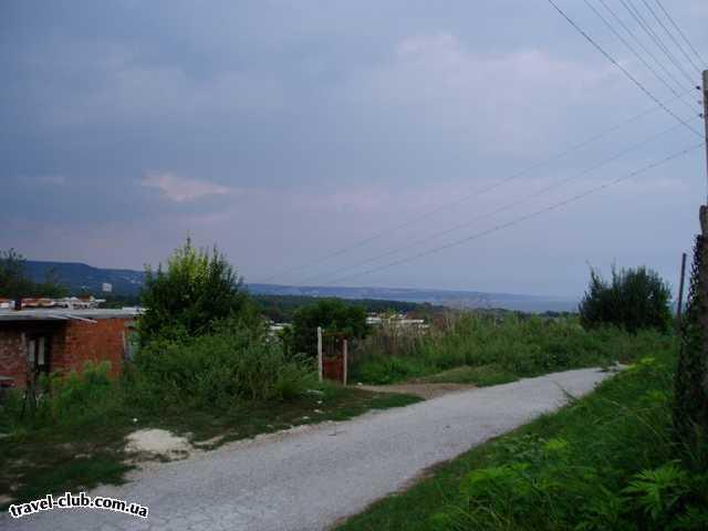 Болгария  Кранево  Рила  прогулка по поселку