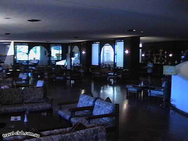 Греция  Халкидики  Kassandra Palace  Греция. П-ов Касандра. Отель Kassandra Palace 4*. Фойе и бар.
