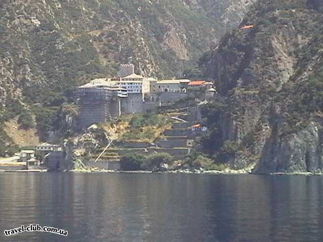 Греция  Халкидики  Kassandra Palace  Один из монастырей Афона