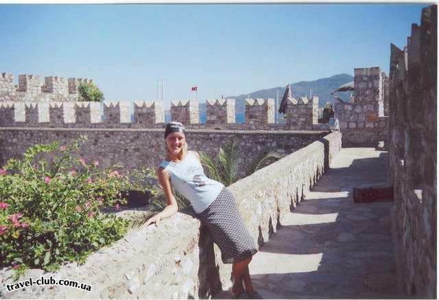 Турция  Мармарис  мармарис. крепость.