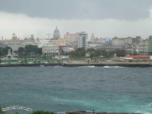 Куба  Гавана  Parque Central 5*  Вид на Гавану и Мексиканский залив со стороны крепости