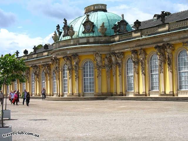 Германия  Потсдам. Дворец Сан-Суси