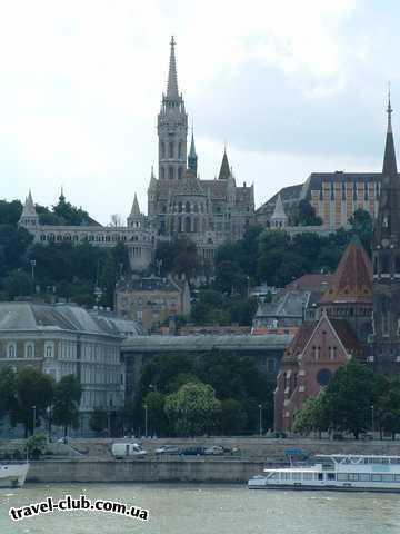 Венгрия  Королевская крепость в Буде