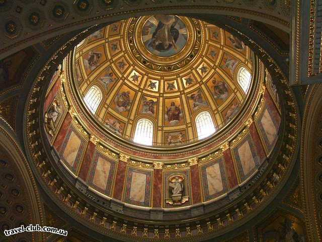 Венгрия  Купол Базилики Св. Иштвана