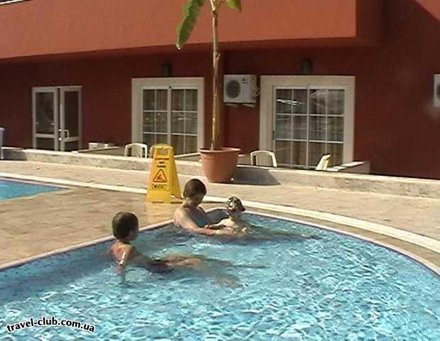 Турция  Кемер  Bella Vue Beach 4*  Детский бассейн
