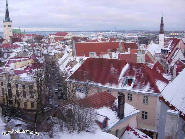 Эстония  Любимый вид на Нижний город