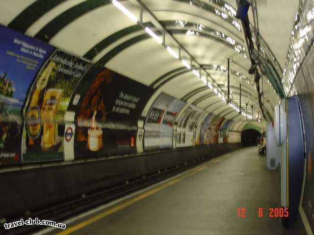 Англия  Лондон  Лондонское метро - TUBE