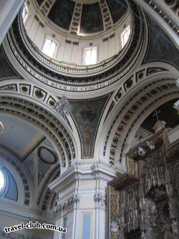 Испания  Сарагоса, Домский собор, внутри