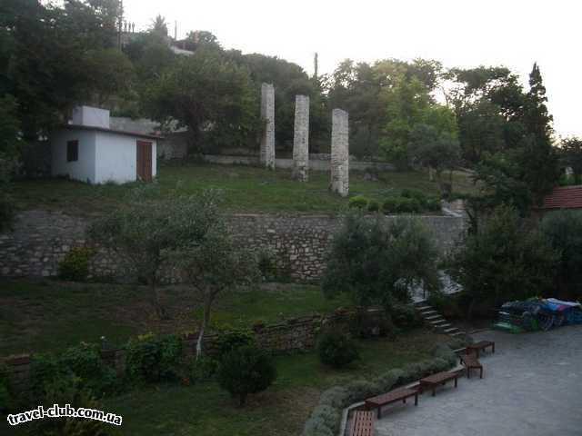 Греция  Халкидики  Ammon Zeus 3*  вид из номера отеля Ammon Zeus