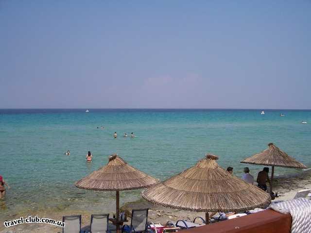 Греция  Халкидики  Ammon Zeus 3*  пляж