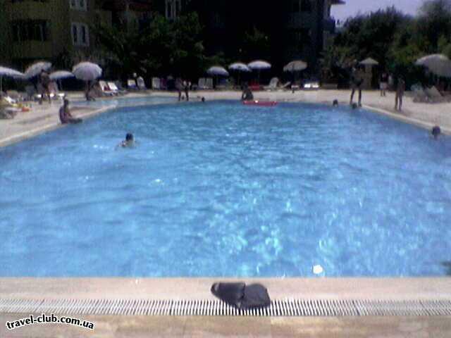 Турция  Алания  Green Fugla Beach (4 ****)  Большой бассейн