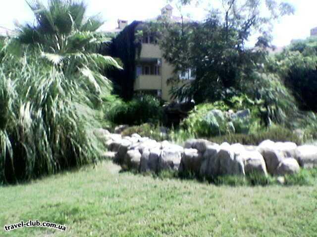 Турция  Алания  Green Fugla Beach (4 ****)  Территория отеля