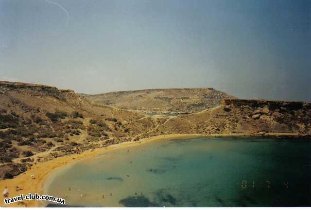 Мальта  мальта дикие песчаные пляжи