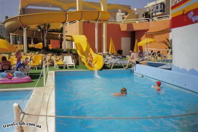 Мальта  Sun Crest  отель Sun Crest. Budgibba. , бассейн что поменьше