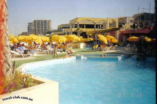 Мальта  Sun Crest  отель Sun Crest. Budgibba.Malta