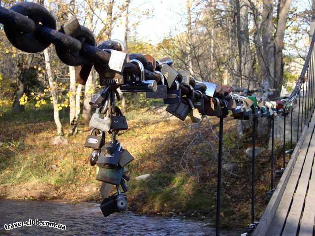 Эстония  Таллинн  Мост влюбленных
