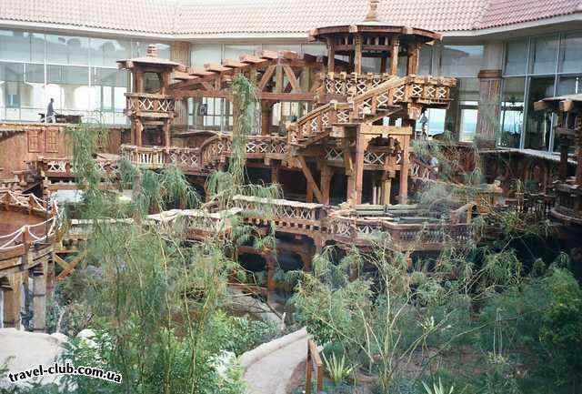 Египет  Шарм Эль Шейх  Sheraton 5*  Внутренний дворик отеля