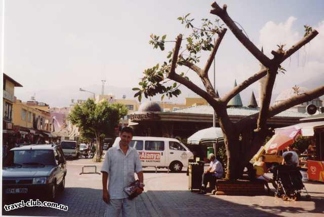 Турция  Алания  Asrin beach 3*  Я и сам не видел, но коентарии на фургоне позади..