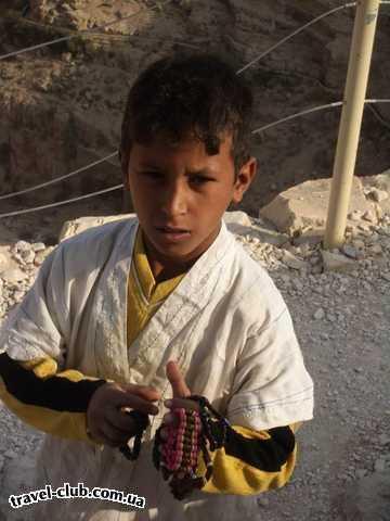 Израиль  Бедуинский малыш