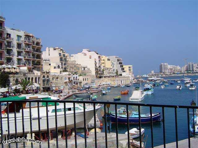 Мальта  Сент-Джулианс-(набережная)