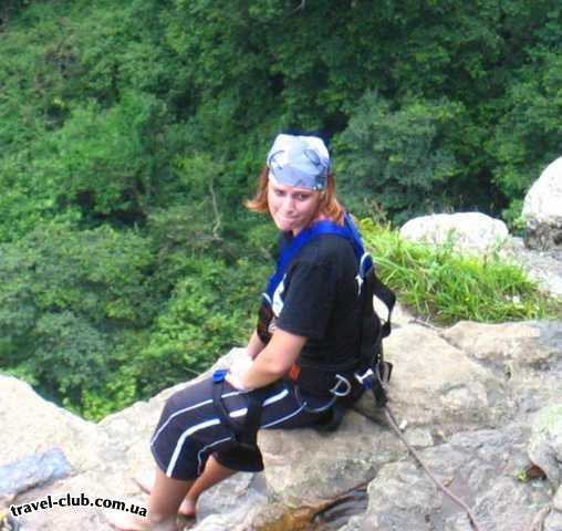 ЮАР  Это я там же, у того же водопада. Готовлюсь к прыжку. Не �