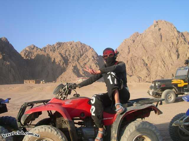 Египет  Шарм Эль Шейх  Royal Rojana Resort 5*  Гонки на сафари)))