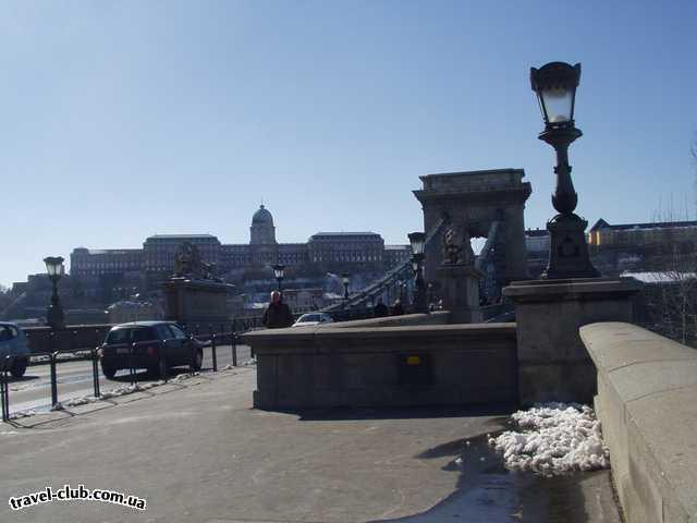 Венгрия  Будапешт  Платанус ***  Цепной мост. 07/03/2006