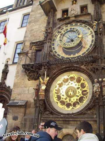 Чехия  Прага  Quality***  Астрономические часы на Староместской площади.