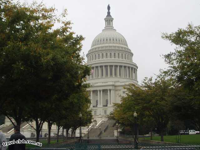 США  Америка  Вашингтон. Капитолий