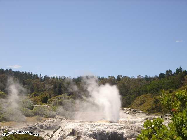 Новая Зеландия  Ротеруа.Деревня Маури.