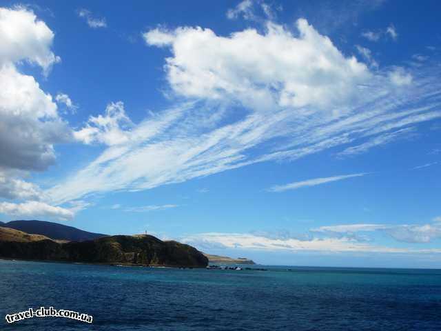 Новая Зеландия  облакка