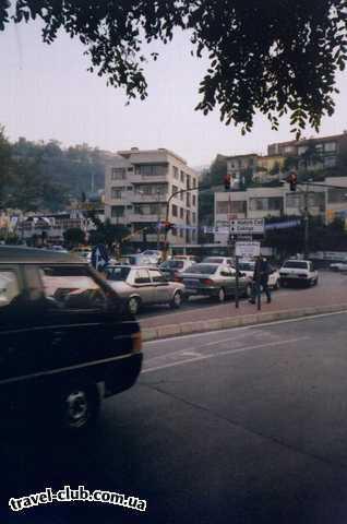 Турция  Бурса  Улицы города