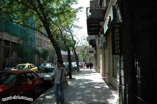 Азербайджан  Улочки Баку