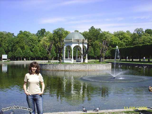 Эстония  Таллинн  Scane  В парке Кадриорг