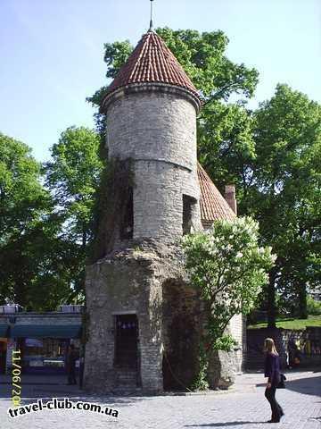Эстония  Таллинн  Scane  Ворота Viru