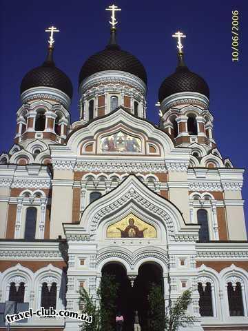 Эстония  Таллинн  Scane  Православный собор