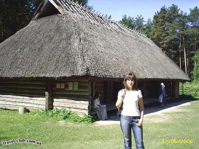 Эстония  Таллинн  Scane  в музее под открытым небом Rocca al mare