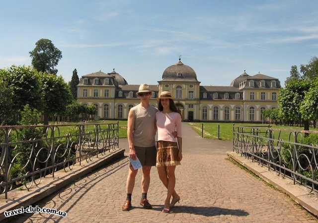 Германия  Бонн  Дворец Поппельсдорф