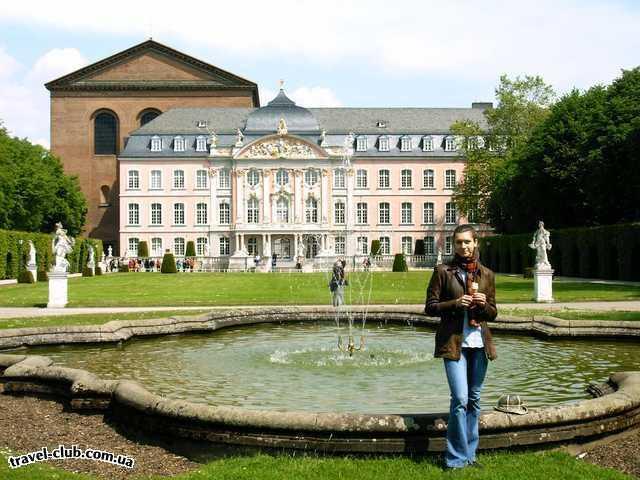 Германия  Райнланд-Пфальц  Трир. Княжеский дворец (17-18 века)