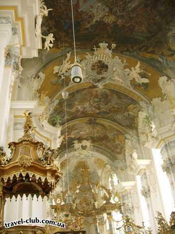 Германия  Райнланд-Пфальц  Трир. Церковь св. Паулина (18 в.)
