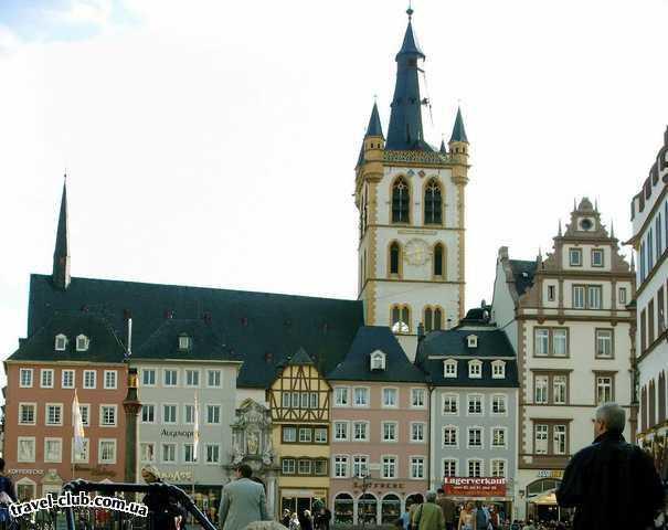 Германия  Райнланд-Пфальц  Трир. Церковь св. Гангольфа (св. покровитель римских со�