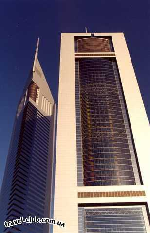 ОАЭ  Дубай  небоскребы
