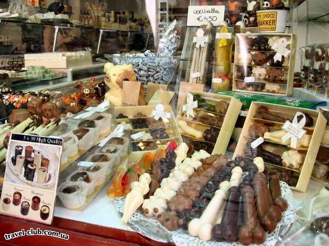 Бельгия  Брюгге  Бельгийский шоколад