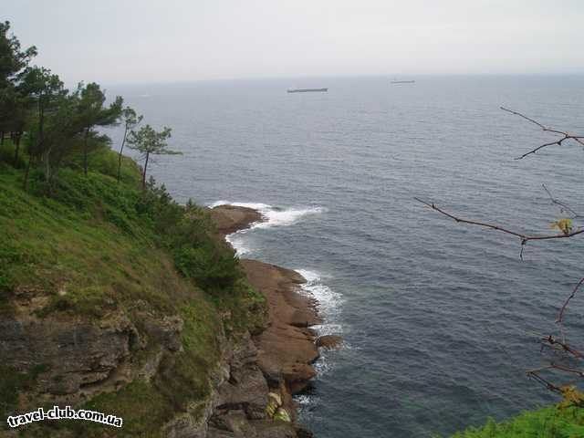 Испания  Santander, Cliffs