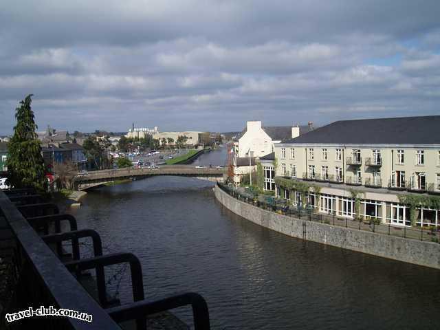 Ирландия  Вид на город Kilkenny